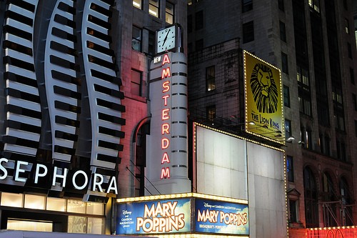 New Amsterdam Theatre Broadway