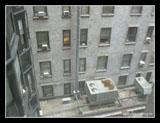 Blick aus dem Fenster des Latham Hotels