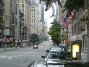 5th Avenue am Sonntag Morgen