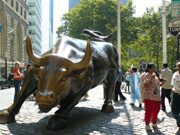 Charging Bull am Bowling Green