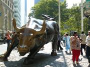 Charging Bull am Bowling Green