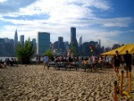 New York - Water Taxi Beach