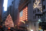 New York Stock Exchange Weihnachtsbaum