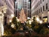 New York Weihnachtsbaum Rockefeller Center