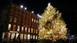 New York Weihnachtsbaum am Southstreet Seaport