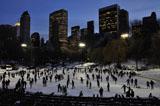 Eislaufen Wollman Rink Central Park